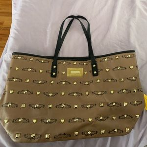 Betsey Johnson Studded Tote